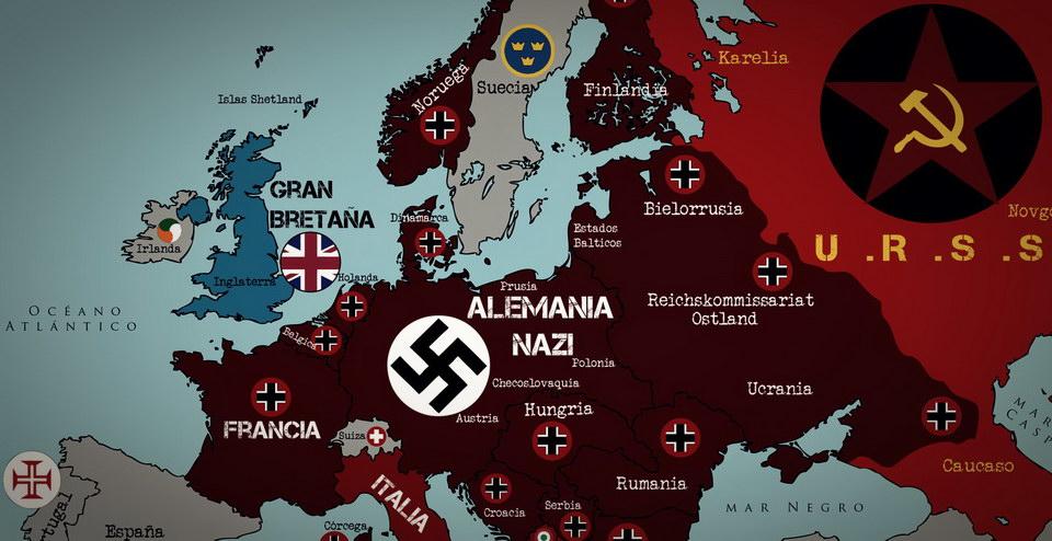 1940年的欧洲战场