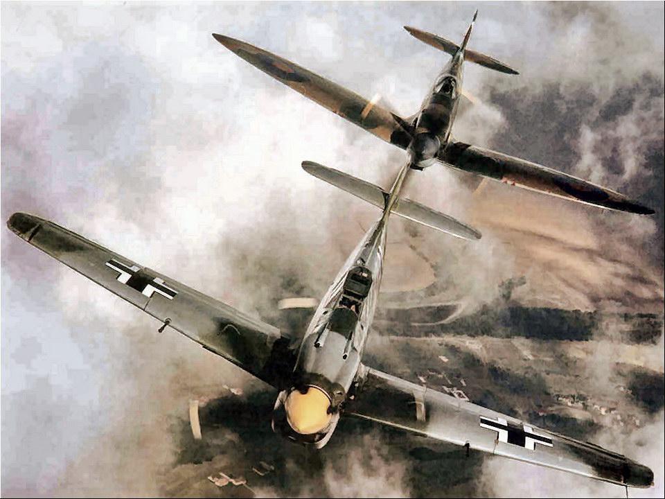 喷火 和 Bf-109 从此结为冤家