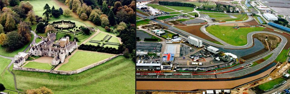 飞跃罗金汉姆古堡 和 Silverstone 银石赛道