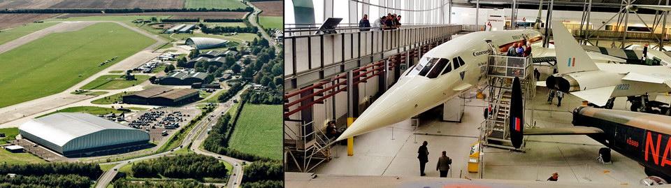 皇家战争博物馆 - 可以入内参观协和式超音速客机