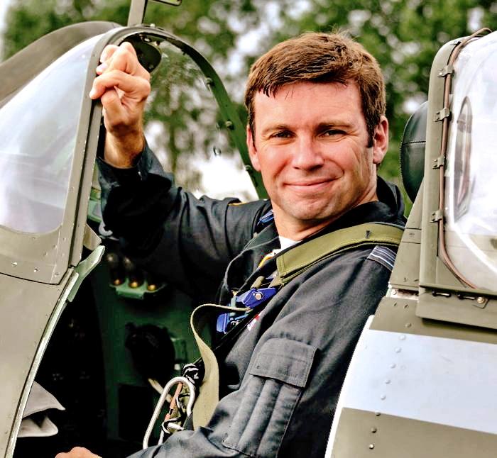 英国皇家空军 少校飞行员 安迪'米利'米利肯